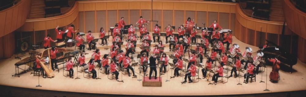 名取交響吹奏楽団 Website